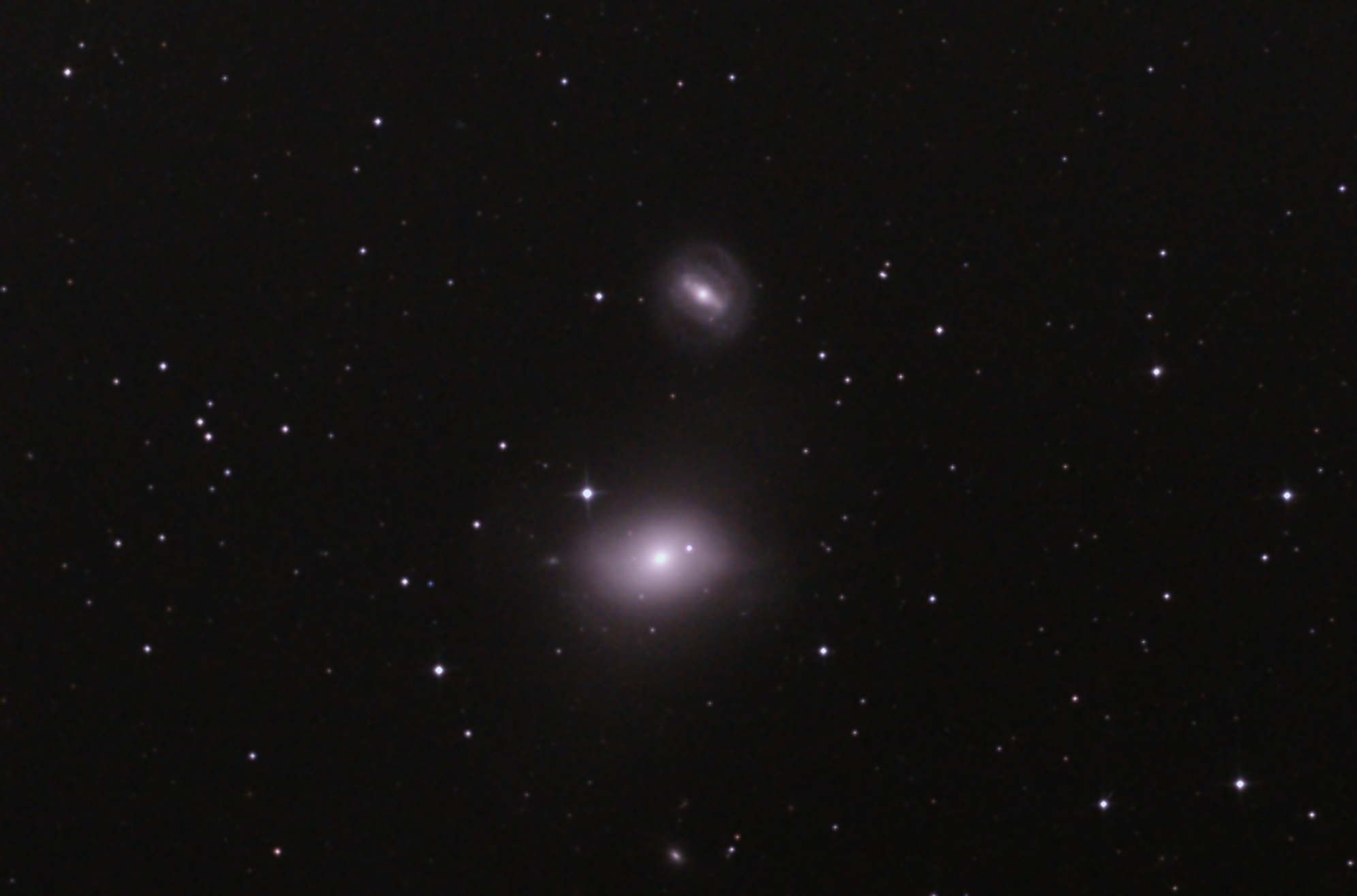 M85とngc4394