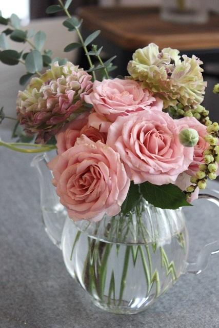 お誕生日のお花 (1)