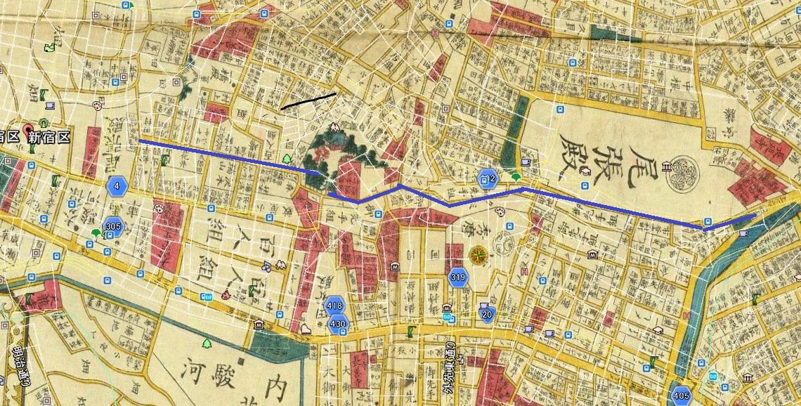 ⑨靖国通り(新宿─外堀)