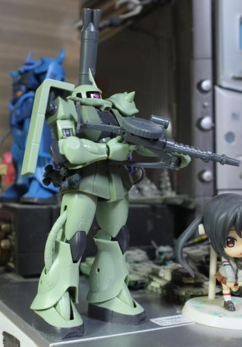 MS-06 ザクII 設定画版③