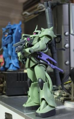 MS-06 ザクII設定画版②