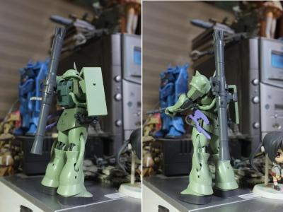 MS-06 ザクII設定画版④リアビュー