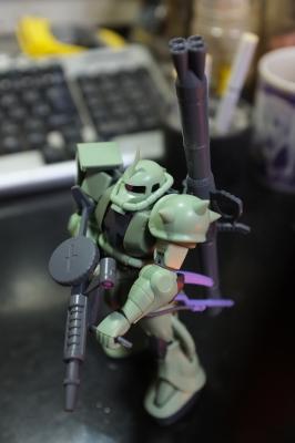 MS-06 ザクII設定画版⑤トップビュー