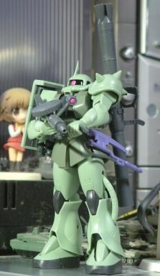 MS-06 ザクII設定画版①