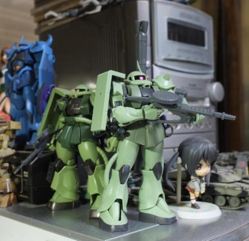 バンダイ ROBOT魂 MS-06 II ver.A.N.I.M.E