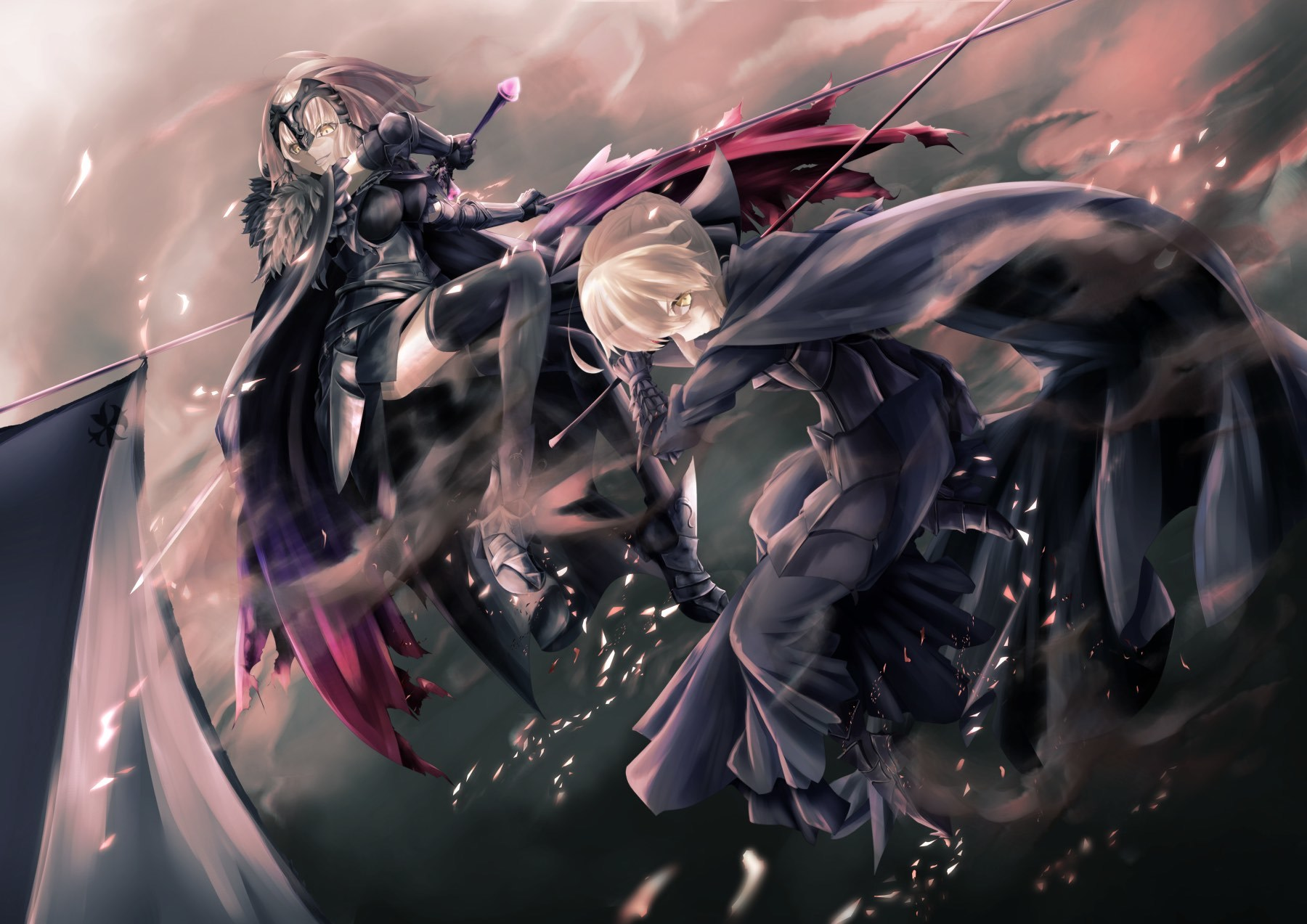 Fate grandorder saber alter joan alter no - 2017 anime wallpaper ...