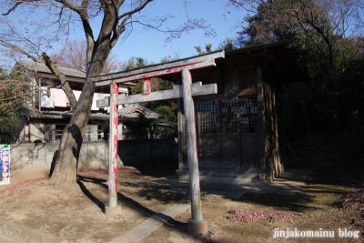 諏訪神社(北足立郡伊奈町小室)1