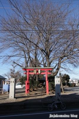 稲荷神社(上尾市瓦葺)1