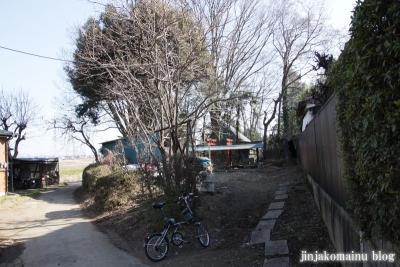 稲荷神社(春日部市内牧)1