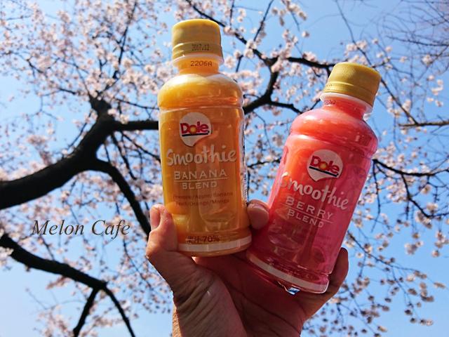 ドールスムージーモニターと上野公園の桜風景11