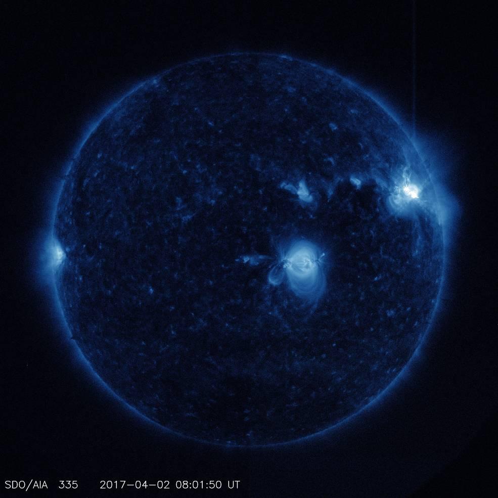 【NASA】大規模な「太陽フレア」が発生!GPSが狂うかも…この2~3日間は電波障害に要注意!
