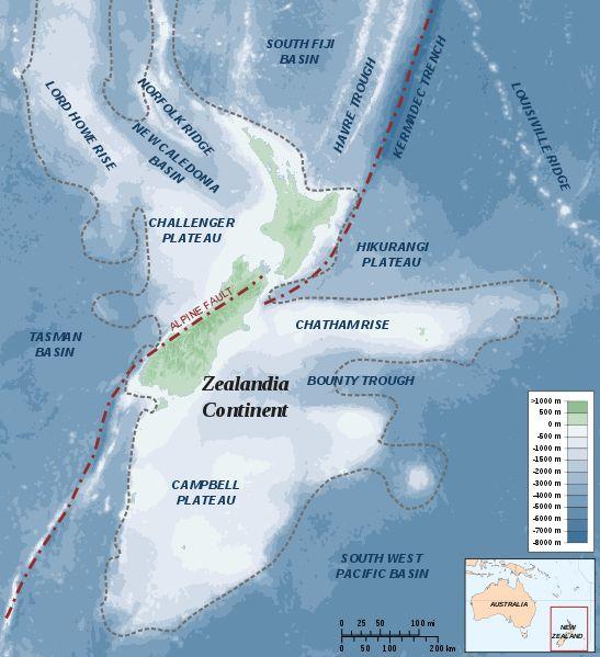 【大陸】アメリカ地質学会「ニュージーランドは失われた未知の大陸ジーランディアの一部だ」と発表