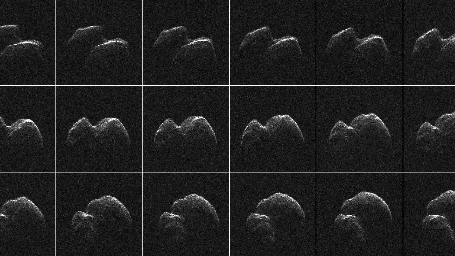 【NASA】最接近した小惑星「2014 JO25」猛スピードで地球のそばを通り過ぎた、その姿を撮影…ピーナツ形の惑星だった